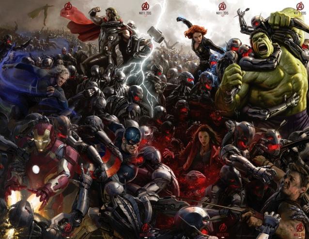 avengers 2 full poster age of ultron