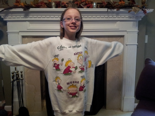 calvin & hobbes sweatshirt
