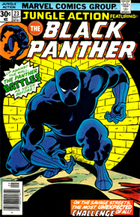 Black Panther comic book