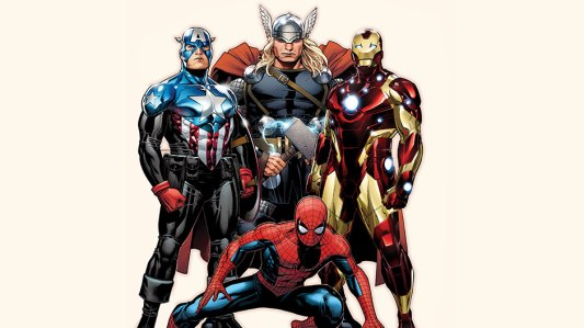 avengers with Spider-Man