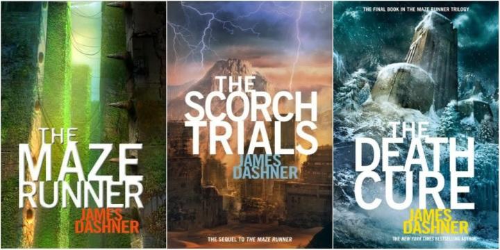 maze_runner 3 books